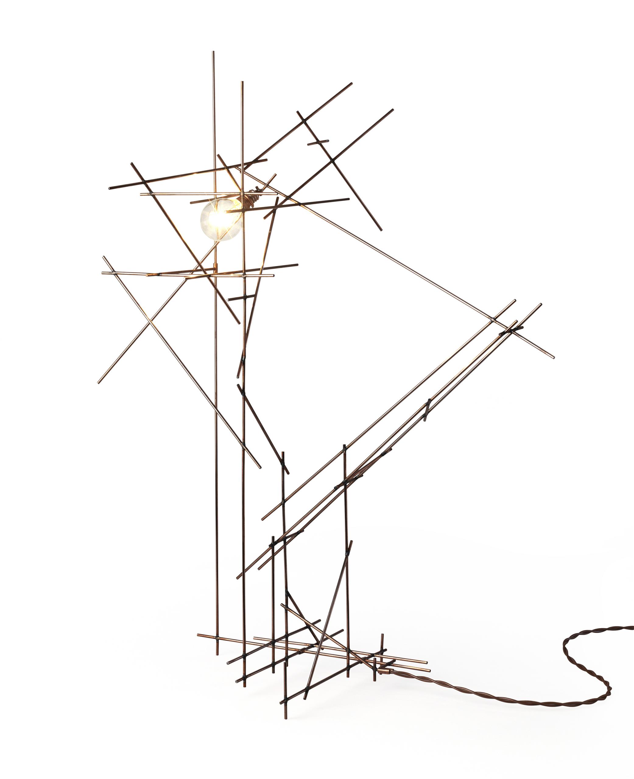 Cubist Lamp