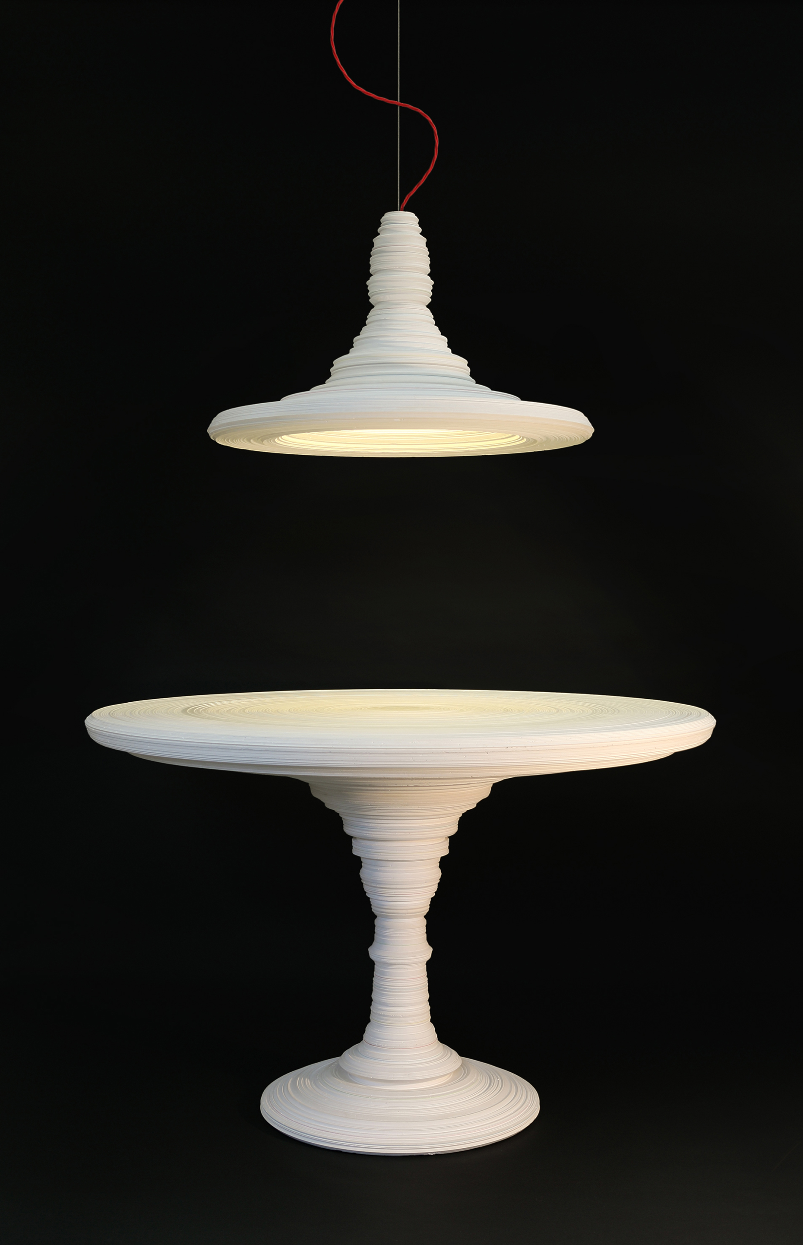 Stupa Lamp & Table