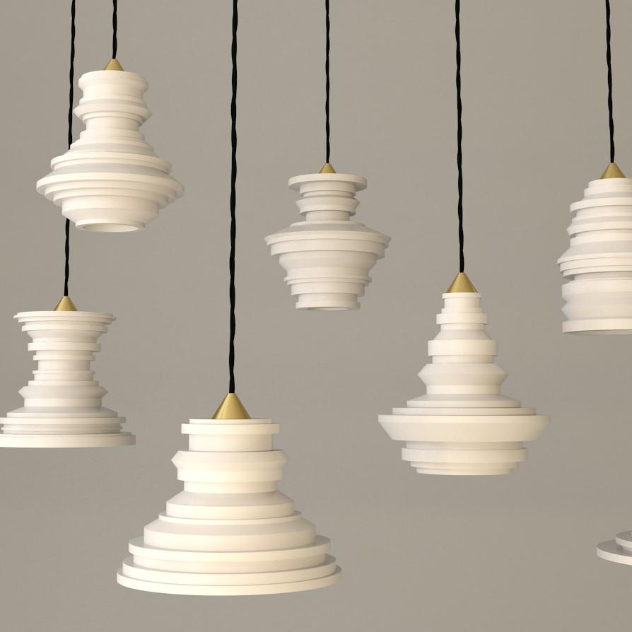 Plaster Lamp